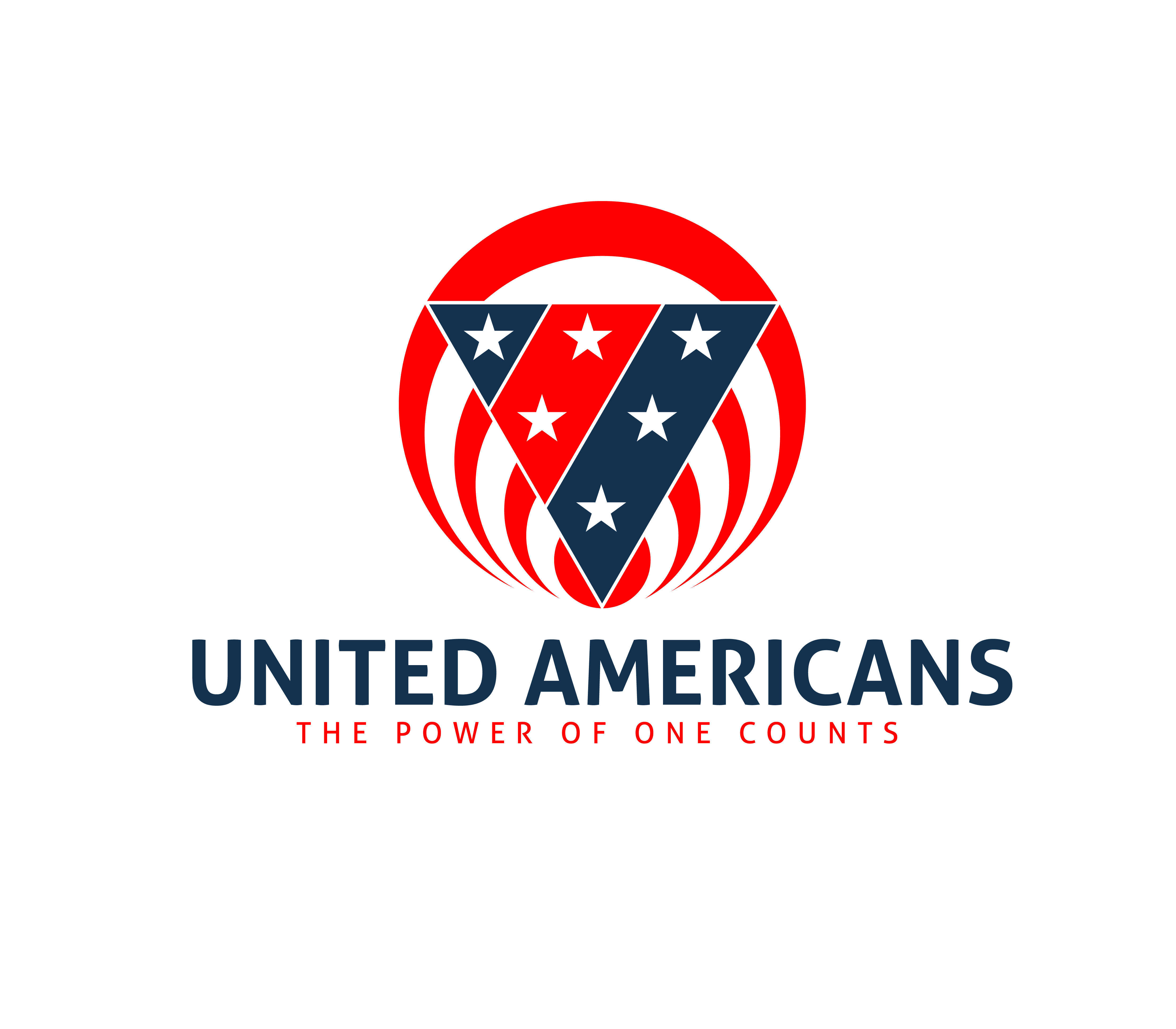 Logo Design by 3draw - Entry No. 142 in the Logo Design Contest Creative Logo Design for United Americans.