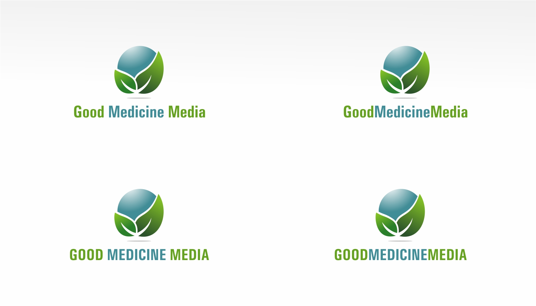 Logo Design by haidu - Entry No. 235 in the Logo Design Contest Good Medicine Media Logo Design.