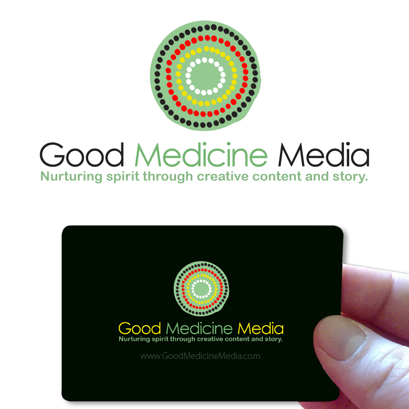Logo Design by Private User - Entry No. 236 in the Logo Design Contest Good Medicine Media Logo Design.