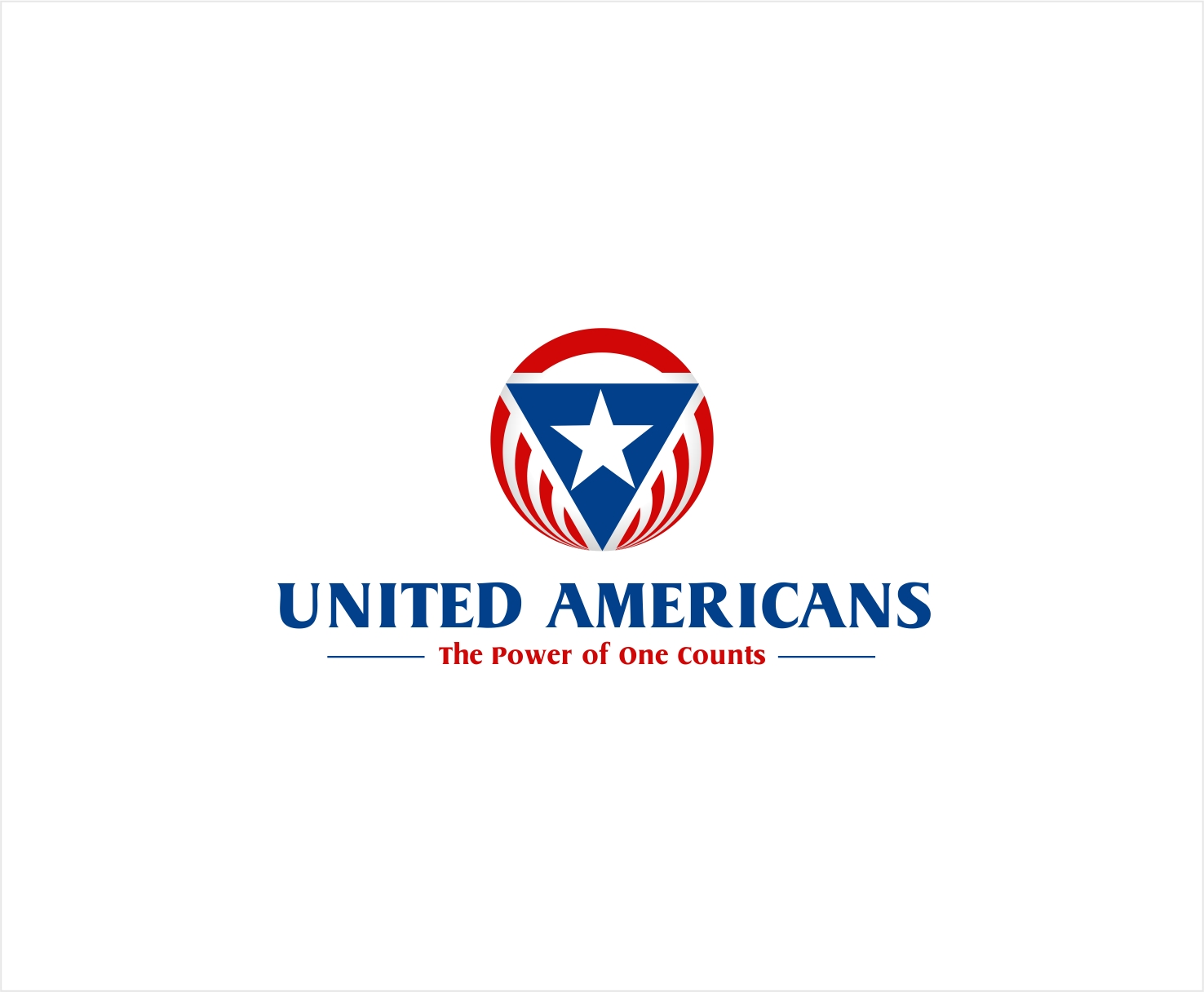 Logo Design by haidu - Entry No. 146 in the Logo Design Contest Creative Logo Design for United Americans.