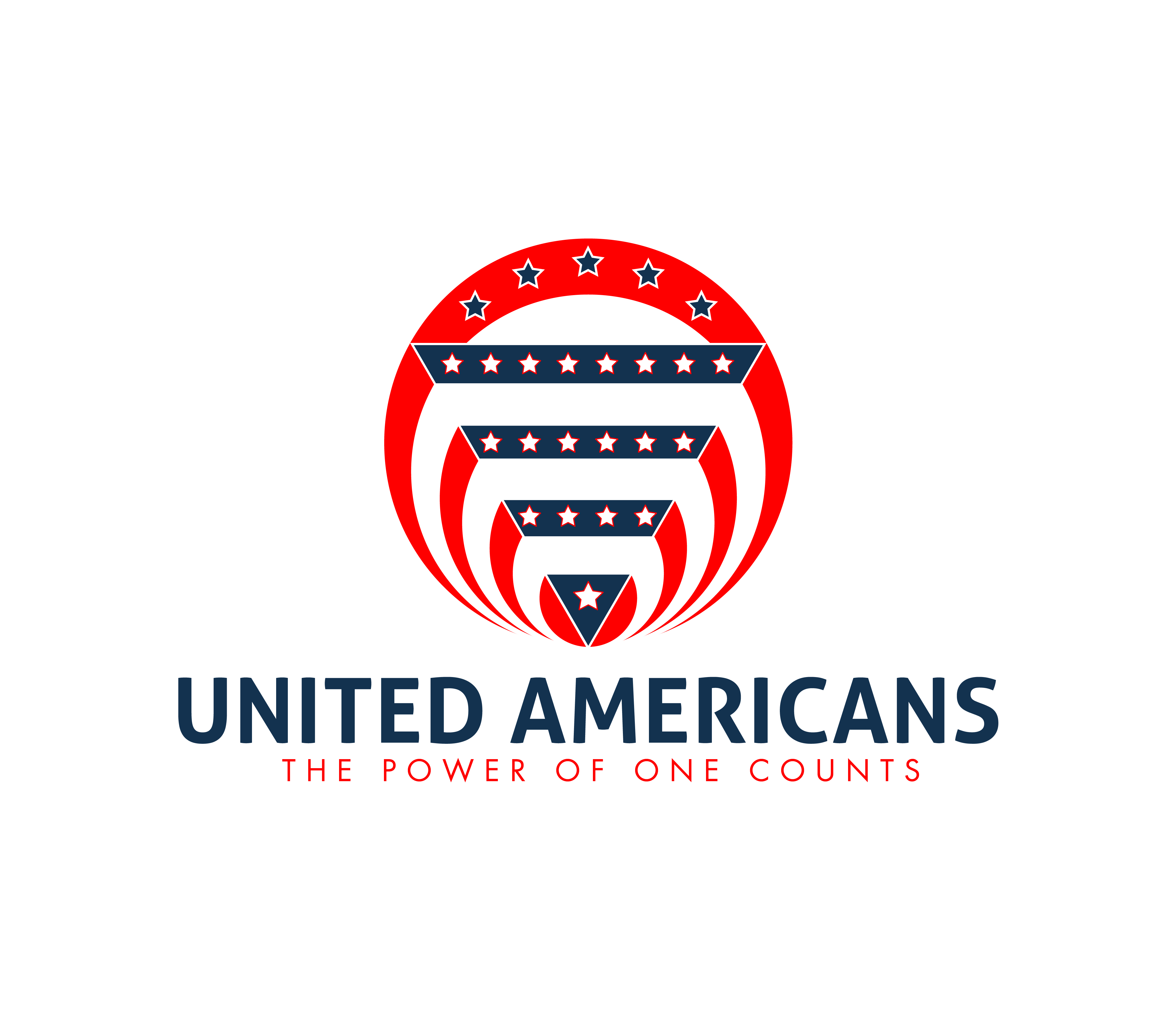 Logo Design by 3draw - Entry No. 148 in the Logo Design Contest Creative Logo Design for United Americans.
