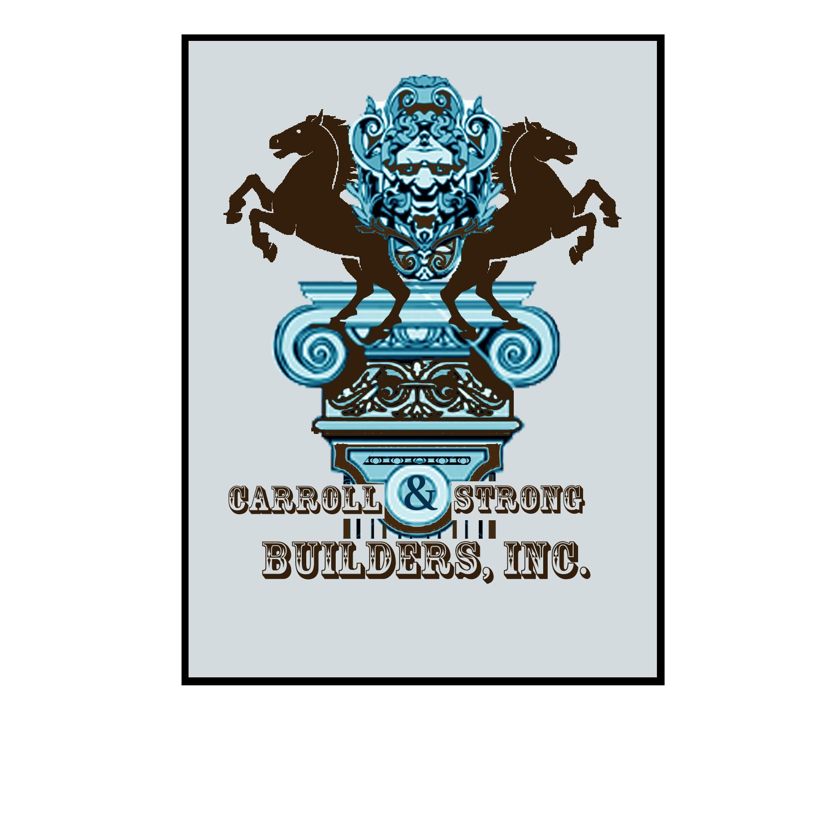 Logo Design by Rakia Raza - Entry No. 66 in the Logo Design Contest New Logo Design for Carroll & Strong Builders, Inc..