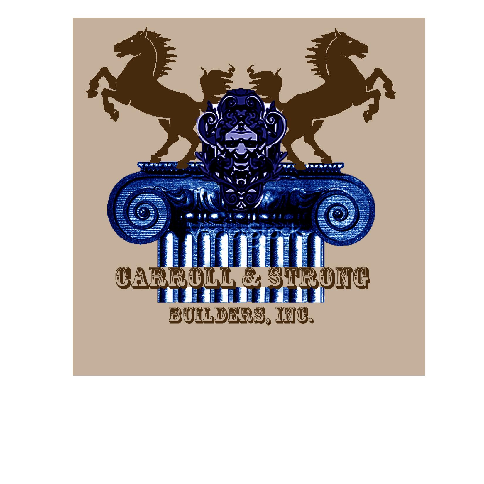 Logo Design by Rakia Raza - Entry No. 68 in the Logo Design Contest New Logo Design for Carroll & Strong Builders, Inc..