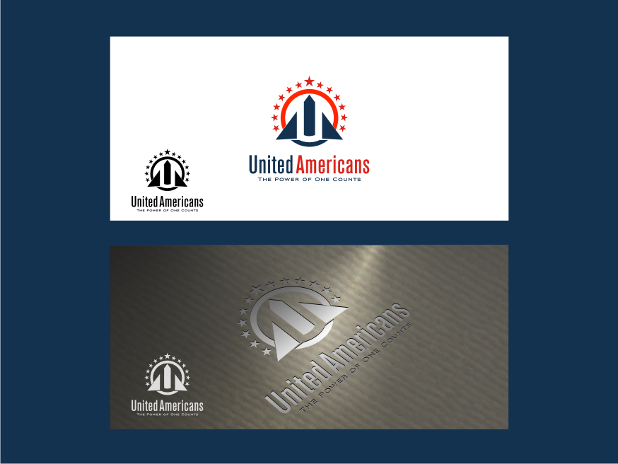 Logo Design by graphicleaf - Entry No. 149 in the Logo Design Contest Creative Logo Design for United Americans.