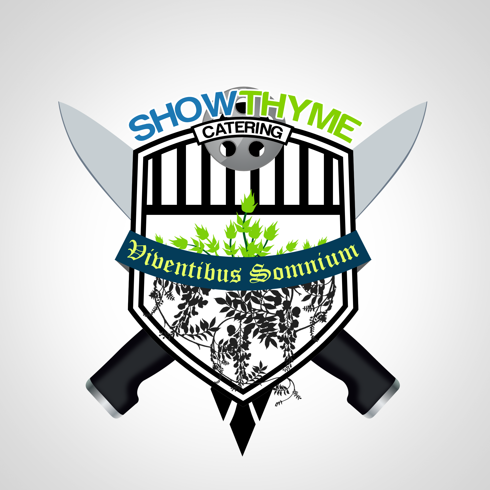 Logo Design by Kenneth Joel - Entry No. 34 in the Logo Design Contest Showthyme Catering Logo Design.