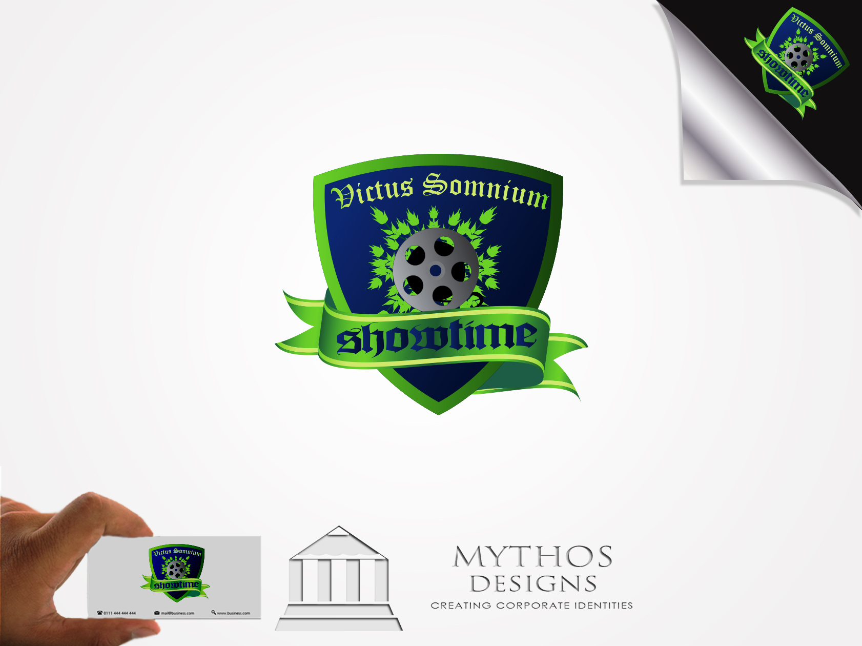 Logo Design by Mythos Designs - Entry No. 37 in the Logo Design Contest Showthyme Catering Logo Design.