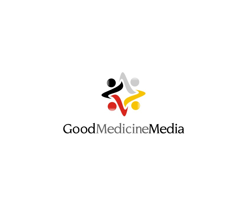 Logo Design by untung - Entry No. 239 in the Logo Design Contest Good Medicine Media Logo Design.