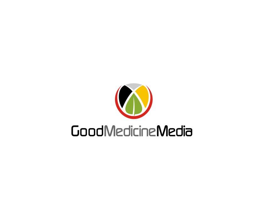 Logo Design by untung - Entry No. 240 in the Logo Design Contest Good Medicine Media Logo Design.