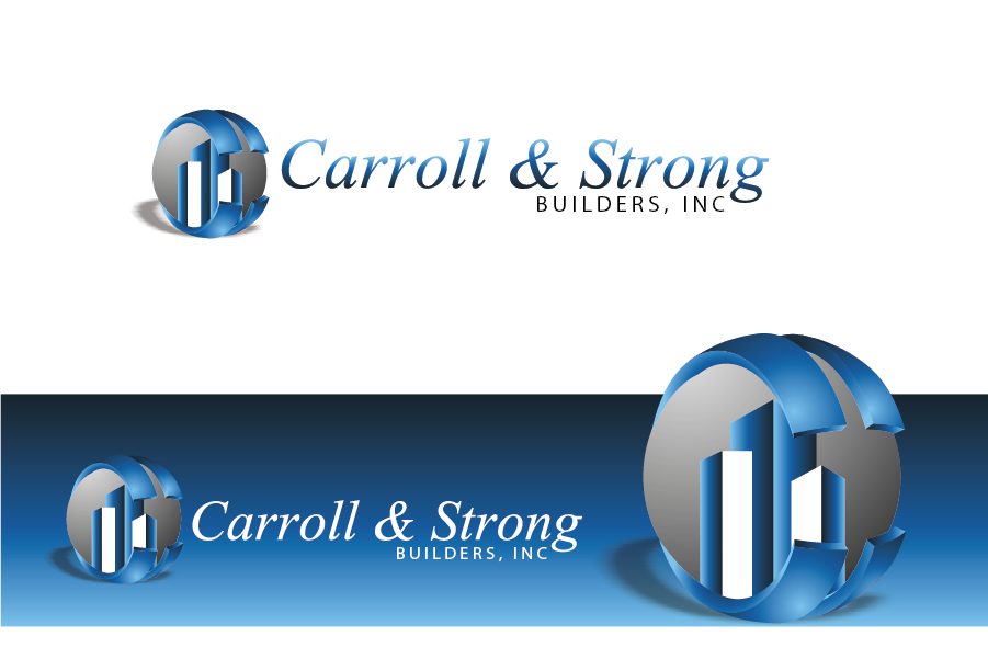Logo Design by Private User - Entry No. 69 in the Logo Design Contest New Logo Design for Carroll & Strong Builders, Inc..