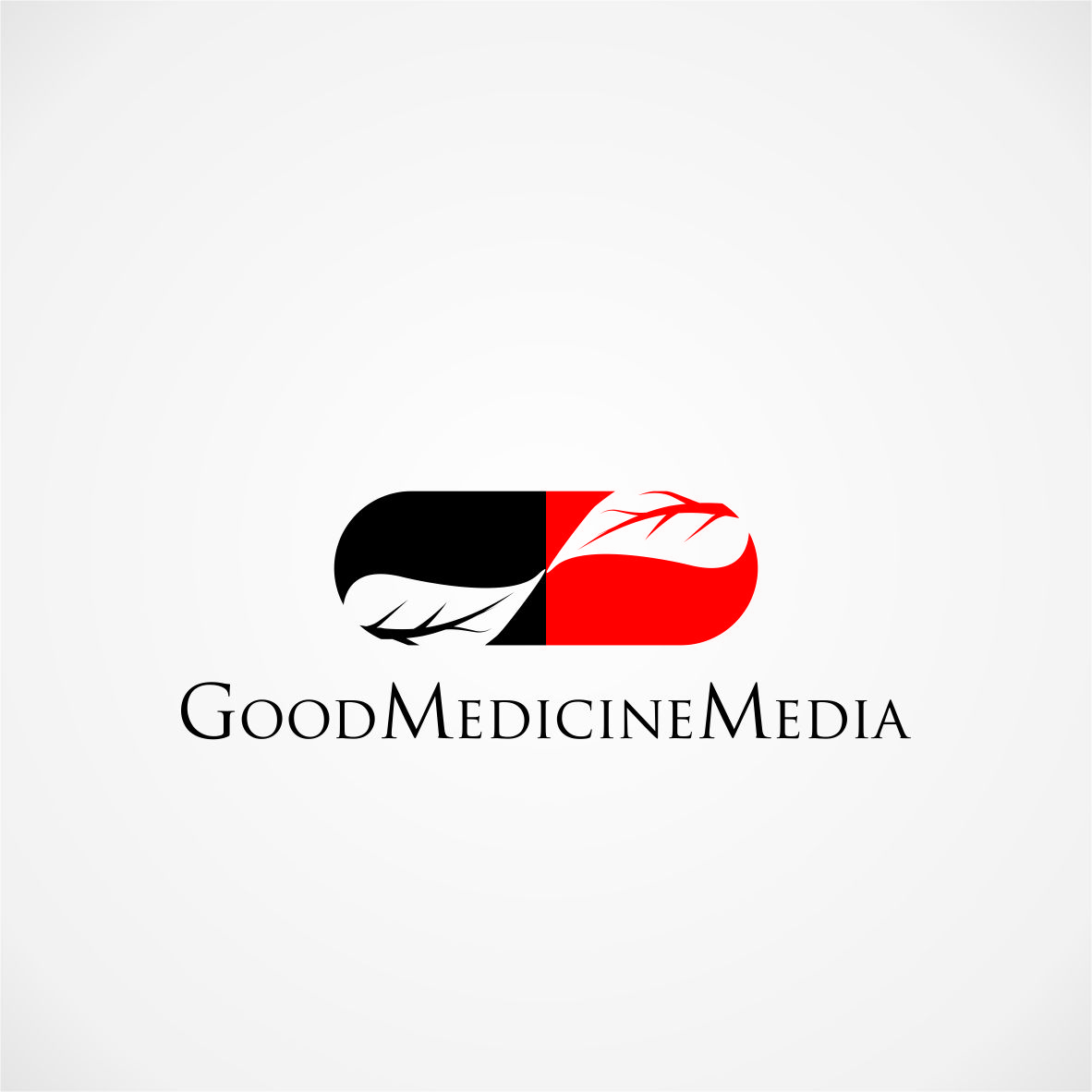 Logo Design by arteo_design - Entry No. 243 in the Logo Design Contest Good Medicine Media Logo Design.