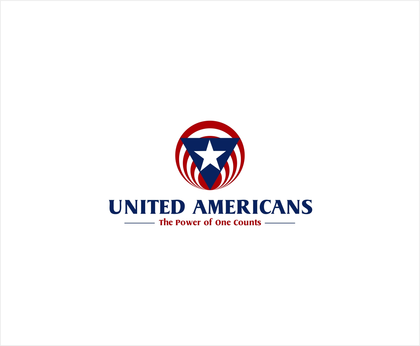 Logo Design by haidu - Entry No. 153 in the Logo Design Contest Creative Logo Design for United Americans.