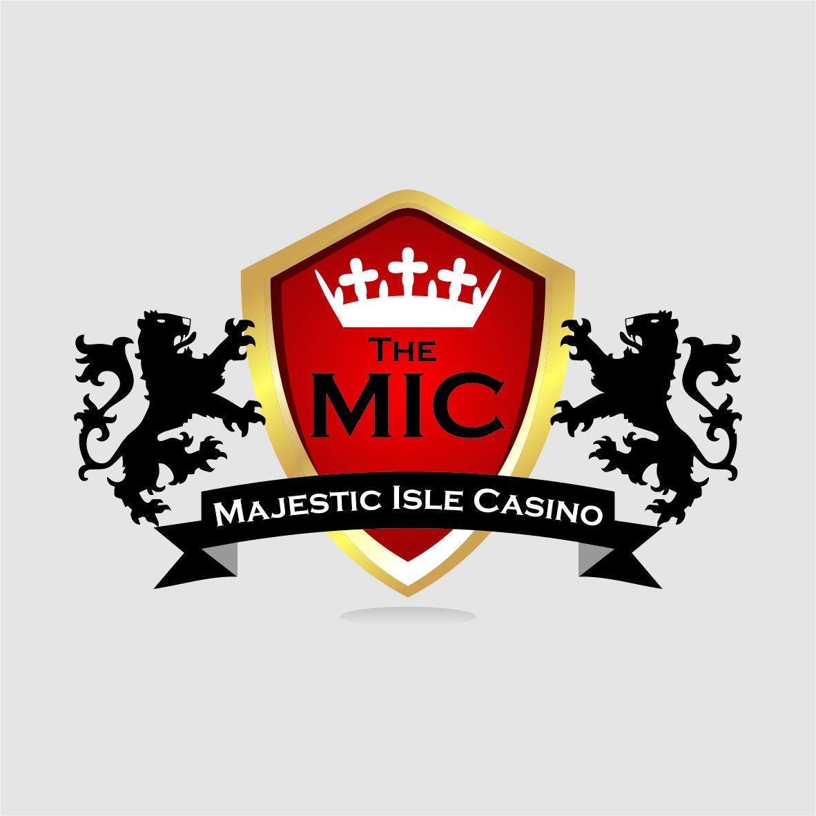 Logo Design by arteo_design - Entry No. 35 in the Logo Design Contest New Logo Design for The Majestic Isle Casino.