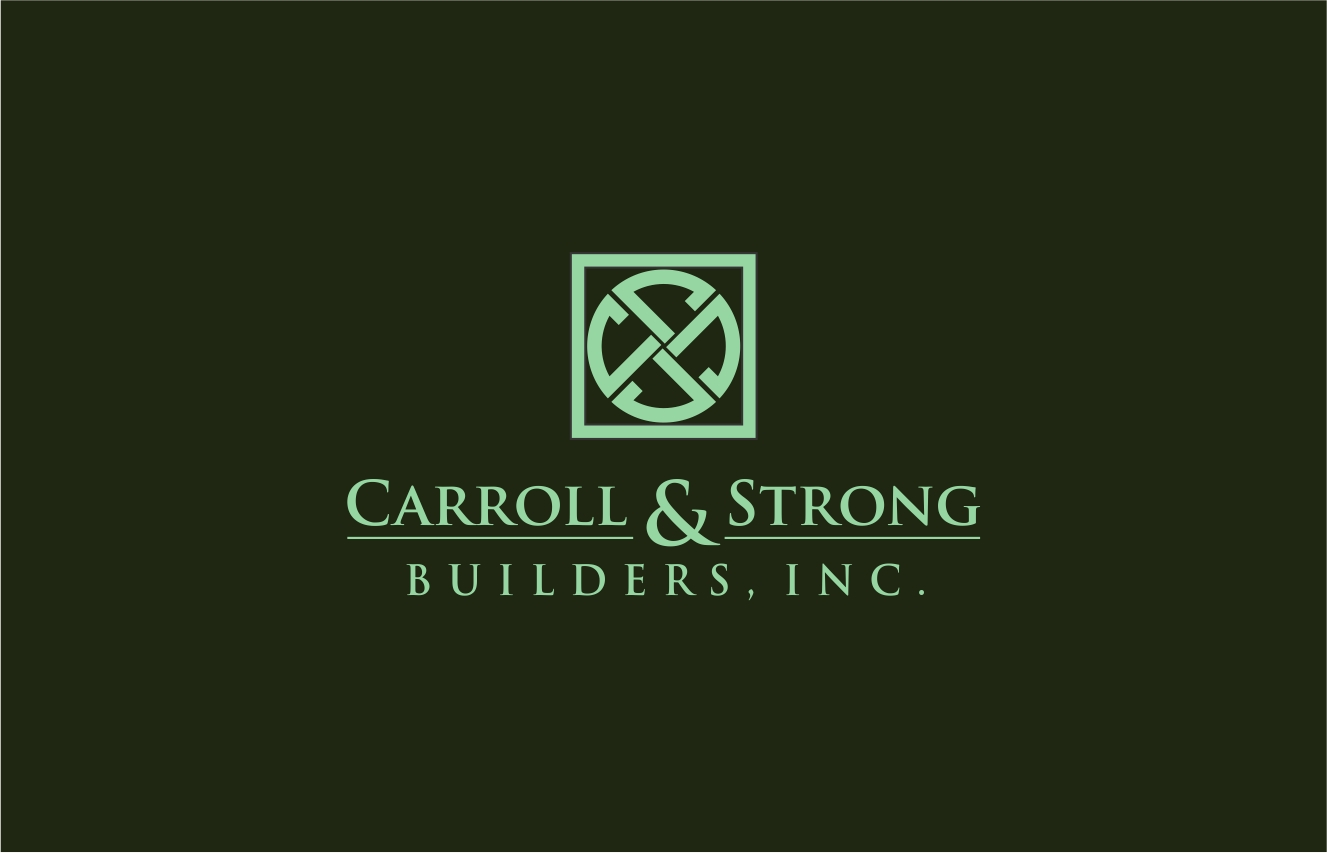 Logo Design by haidu - Entry No. 74 in the Logo Design Contest New Logo Design for Carroll & Strong Builders, Inc..