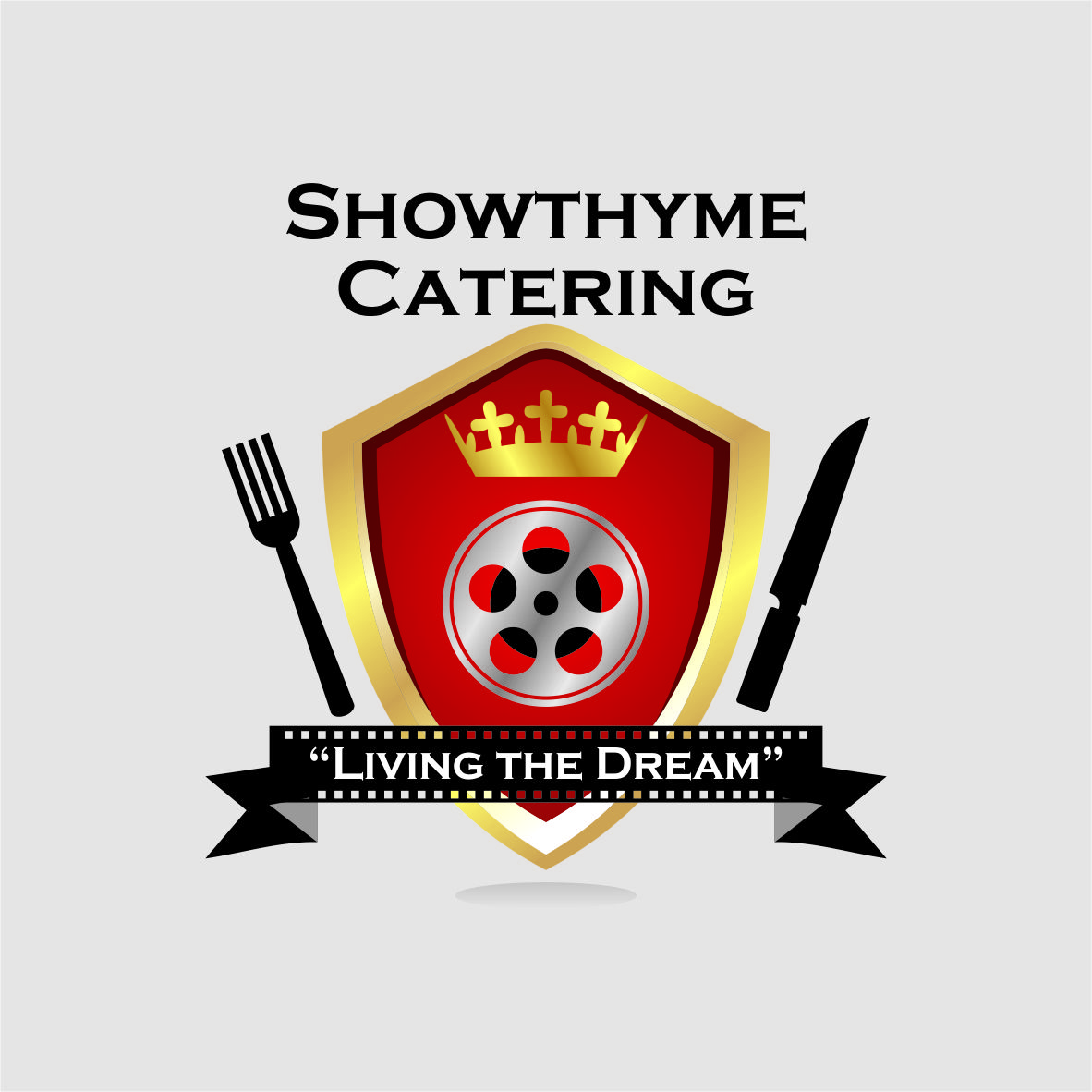 Logo Design by arteo_design - Entry No. 43 in the Logo Design Contest Showthyme Catering Logo Design.