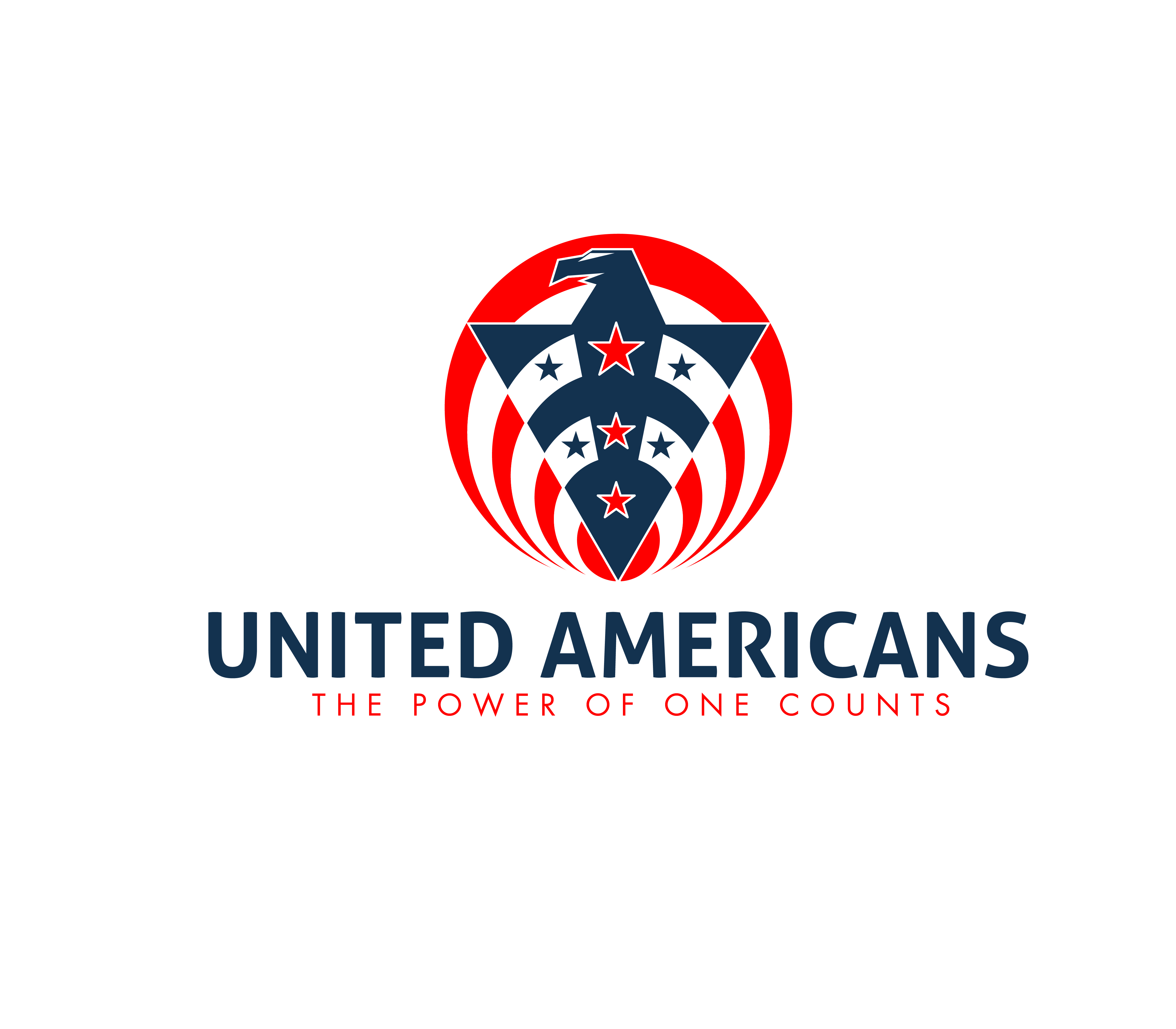 Logo Design by 3draw - Entry No. 164 in the Logo Design Contest Creative Logo Design for United Americans.