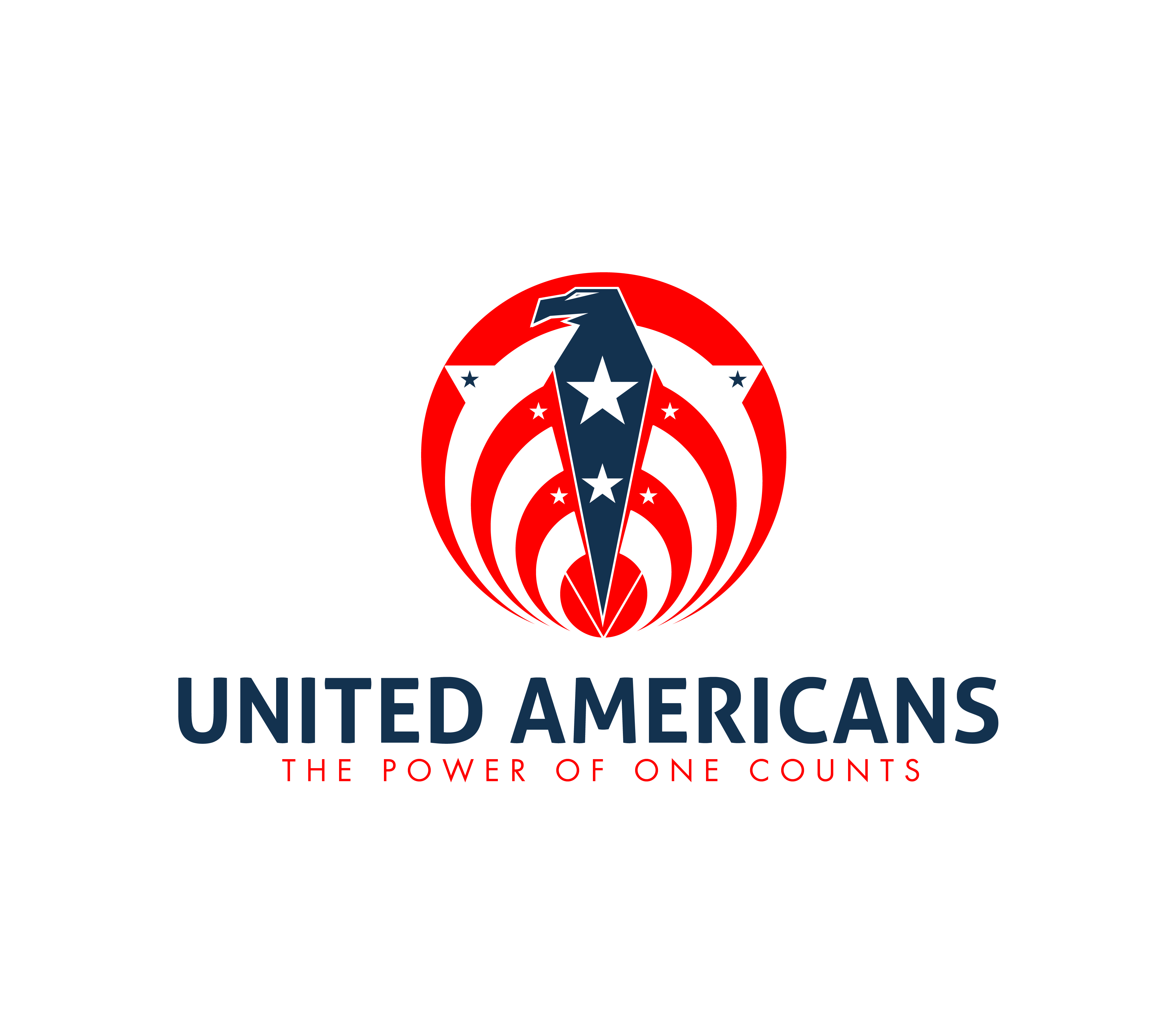 Logo Design by 3draw - Entry No. 167 in the Logo Design Contest Creative Logo Design for United Americans.