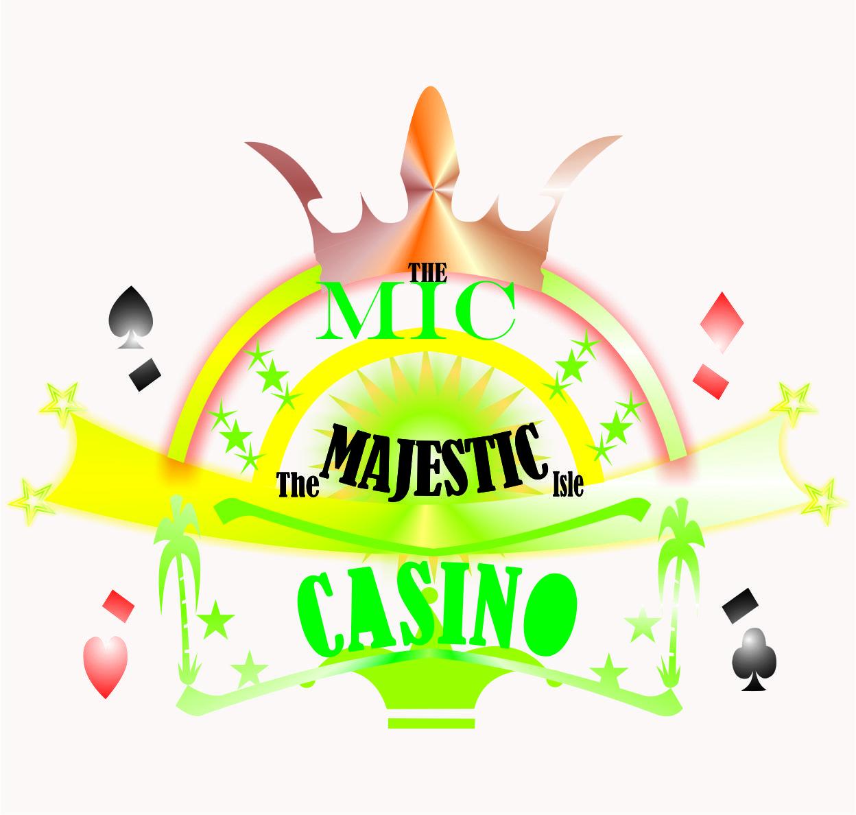 Logo Design by Teguh Hanuraga - Entry No. 47 in the Logo Design Contest New Logo Design for The Majestic Isle Casino.