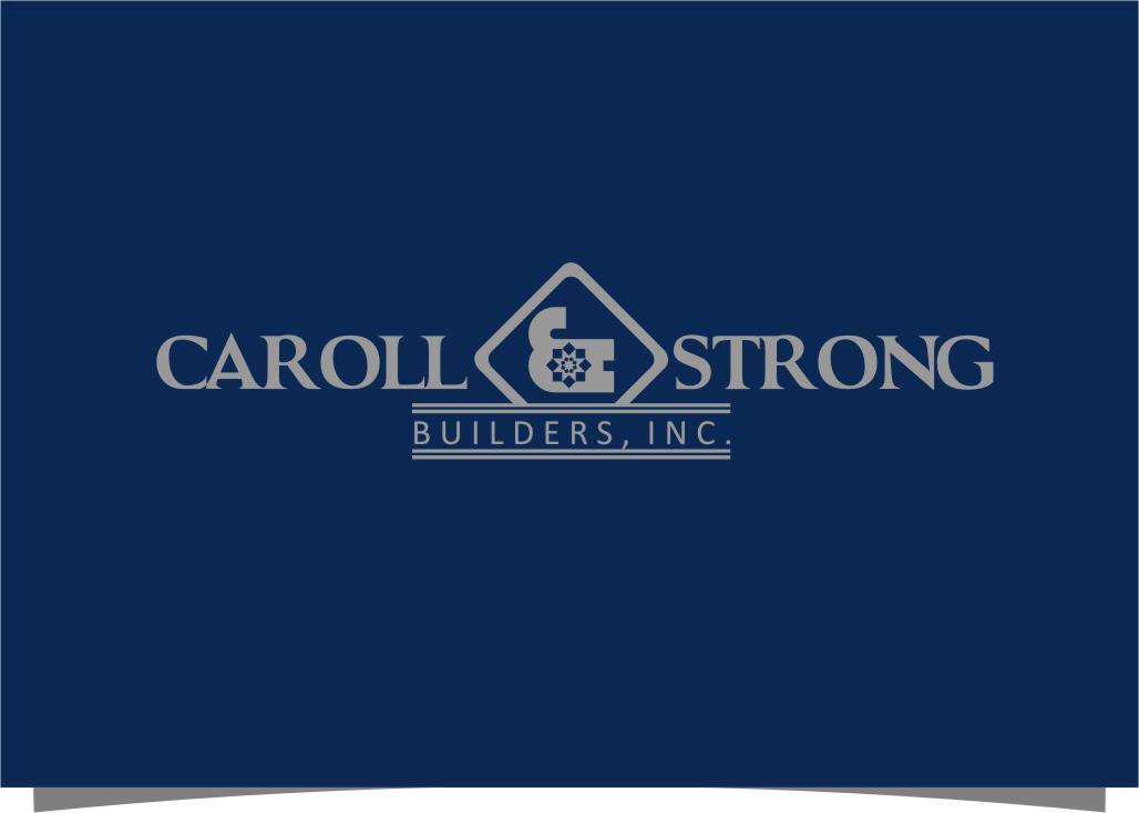 Logo Design by Ngepet_art - Entry No. 79 in the Logo Design Contest New Logo Design for Carroll & Strong Builders, Inc..