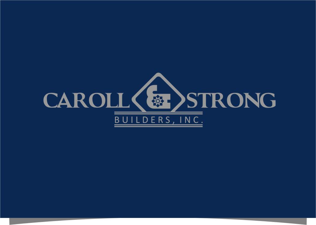 Logo Design by RasYa Muhammad Athaya - Entry No. 79 in the Logo Design Contest New Logo Design for Carroll & Strong Builders, Inc..