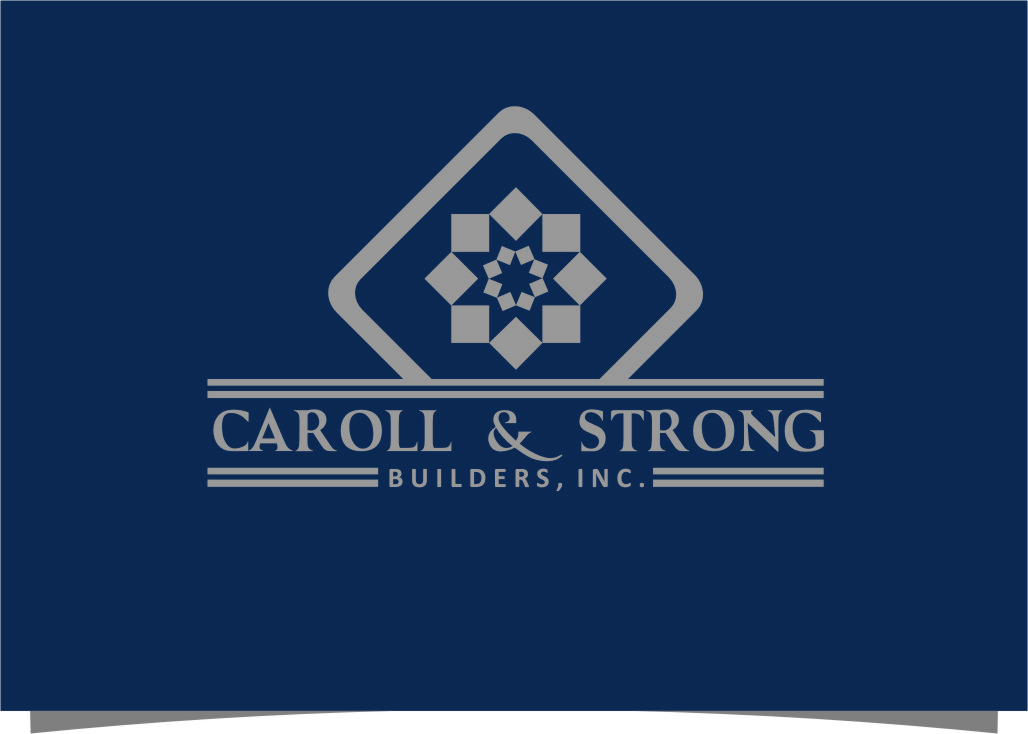 Logo Design by RoSyid Rono-Rene On Java - Entry No. 80 in the Logo Design Contest New Logo Design for Carroll & Strong Builders, Inc..
