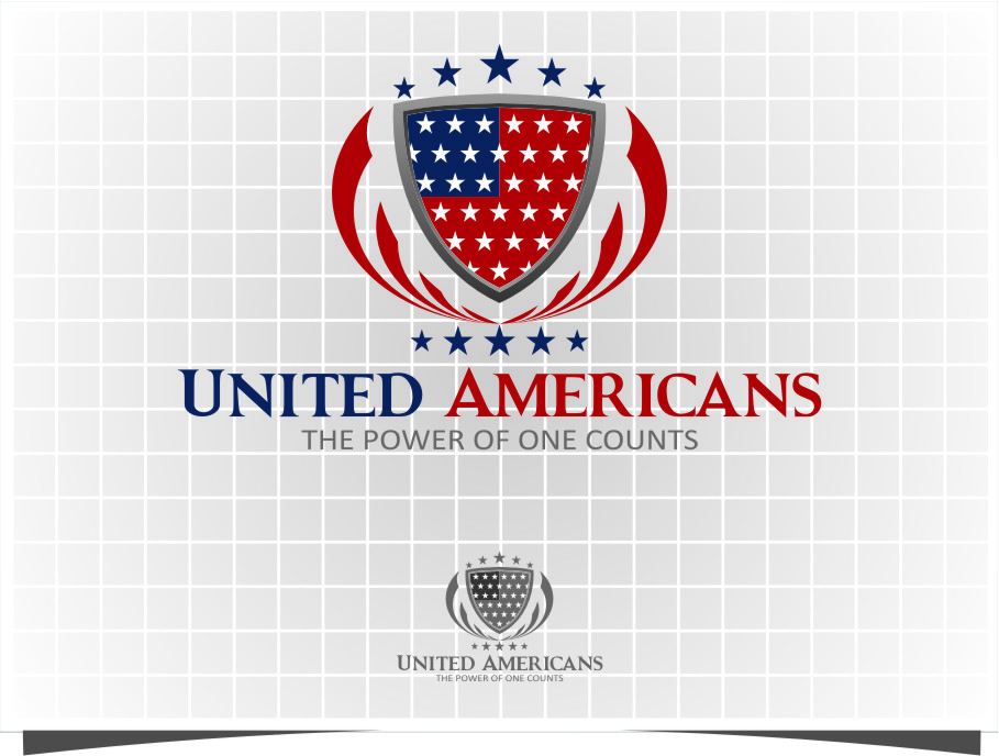 Logo Design by Ngepet_art - Entry No. 171 in the Logo Design Contest Creative Logo Design for United Americans.