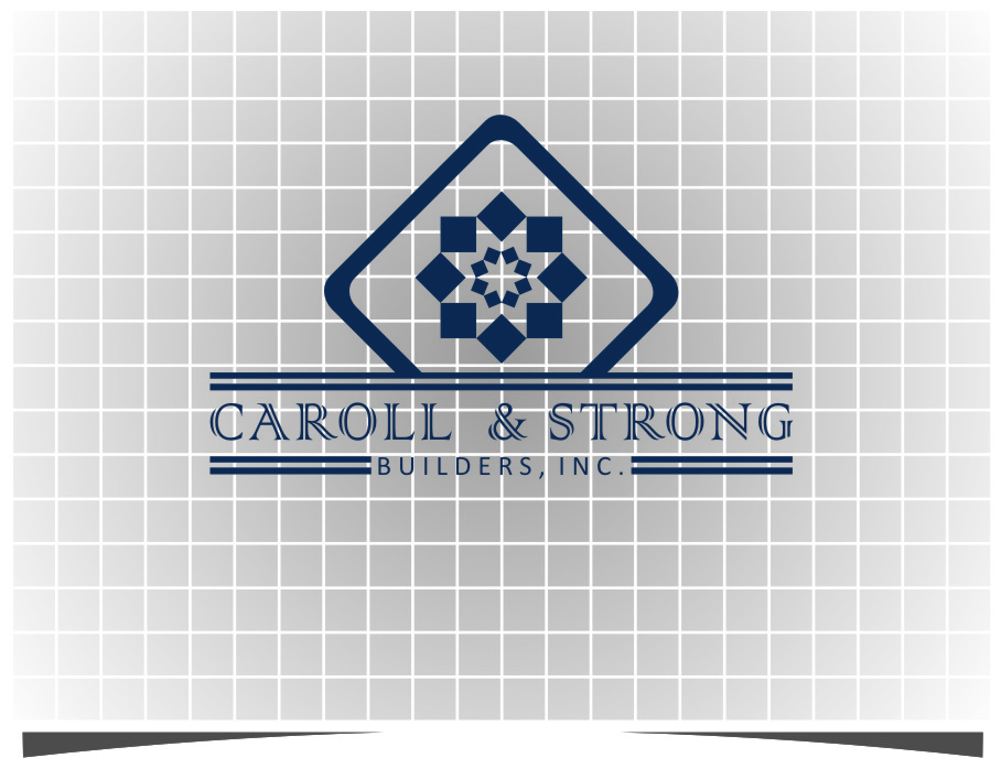 Logo Design by RasYa Muhammad Athaya - Entry No. 81 in the Logo Design Contest New Logo Design for Carroll & Strong Builders, Inc..