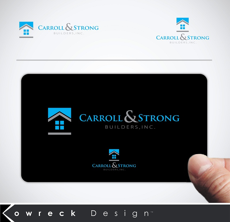 Logo Design by kowreck - Entry No. 83 in the Logo Design Contest New Logo Design for Carroll & Strong Builders, Inc..
