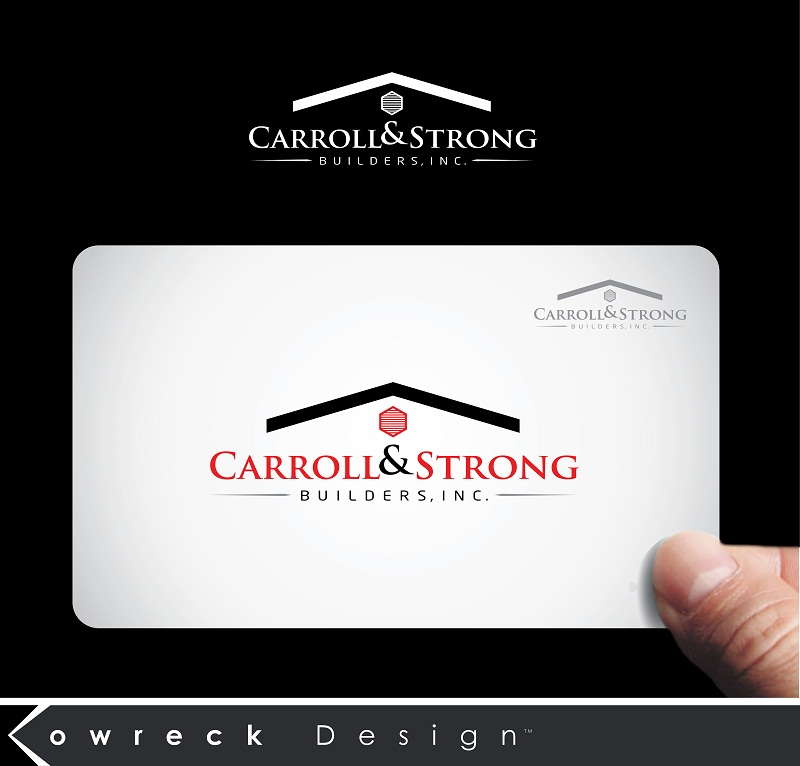Logo Design by kowreck - Entry No. 84 in the Logo Design Contest New Logo Design for Carroll & Strong Builders, Inc..