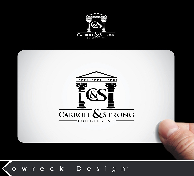 Logo Design by kowreck - Entry No. 85 in the Logo Design Contest New Logo Design for Carroll & Strong Builders, Inc..
