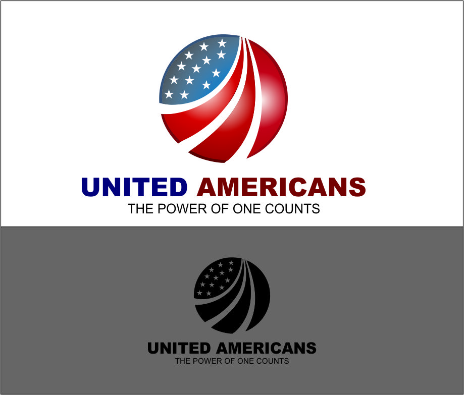 Logo Design by Agus Martoyo - Entry No. 174 in the Logo Design Contest Creative Logo Design for United Americans.