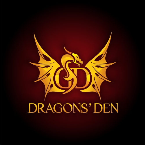 Logo Design by OverDozes - Entry No. 41 in the Logo Design Contest The Dragons' Den needs a new logo.