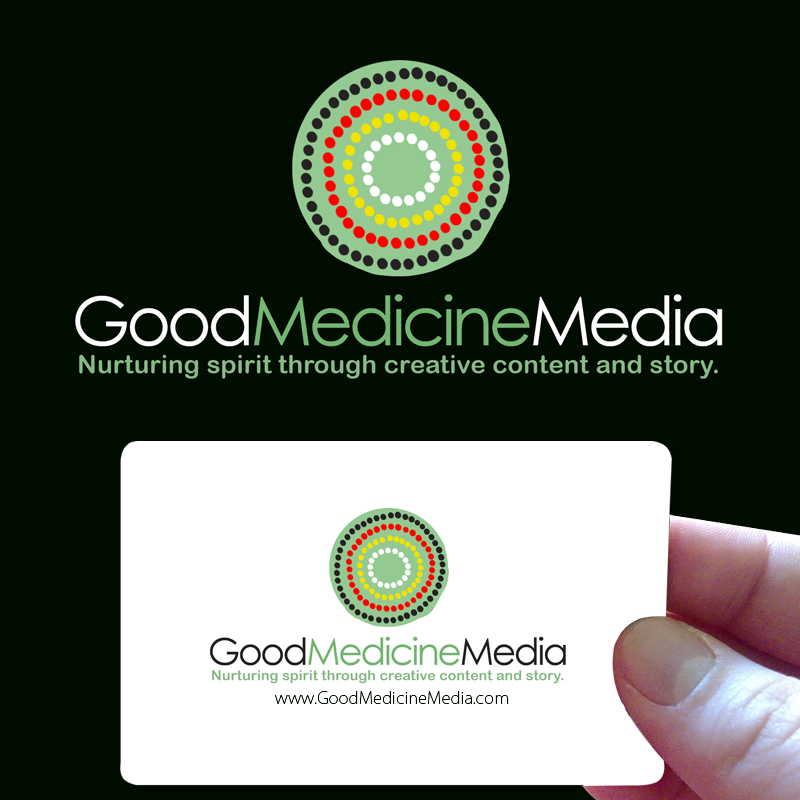 Logo Design by Private User - Entry No. 245 in the Logo Design Contest Good Medicine Media Logo Design.