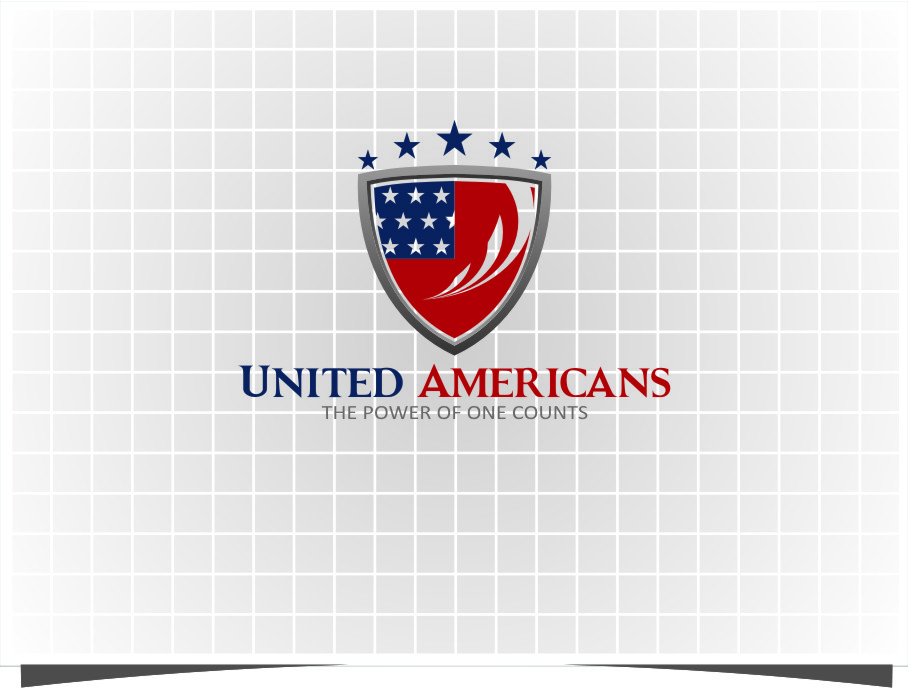 Logo Design by Ngepet_art - Entry No. 175 in the Logo Design Contest Creative Logo Design for United Americans.