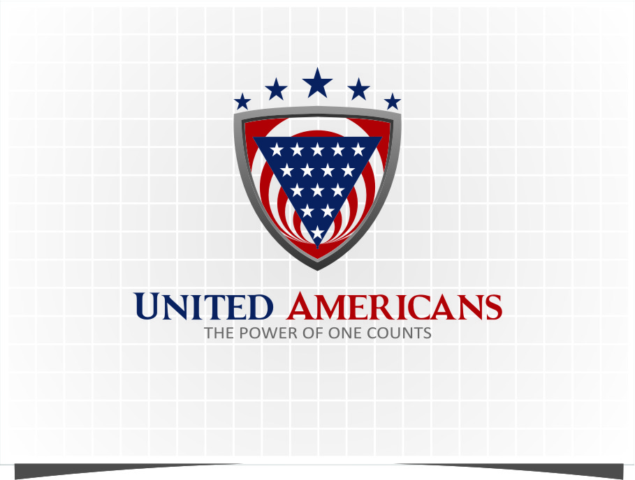Logo Design by RoSyid Rono-Rene On Java - Entry No. 176 in the Logo Design Contest Creative Logo Design for United Americans.