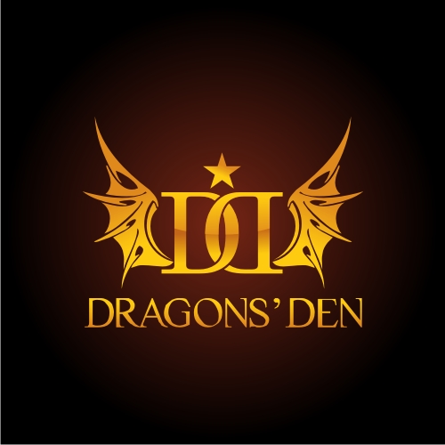 Logo Design by OverDozes - Entry No. 42 in the Logo Design Contest The Dragons' Den needs a new logo.