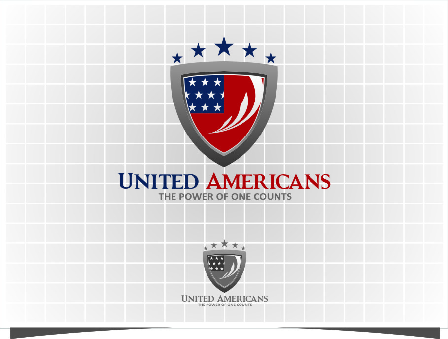 Logo Design by Ngepet_art - Entry No. 177 in the Logo Design Contest Creative Logo Design for United Americans.