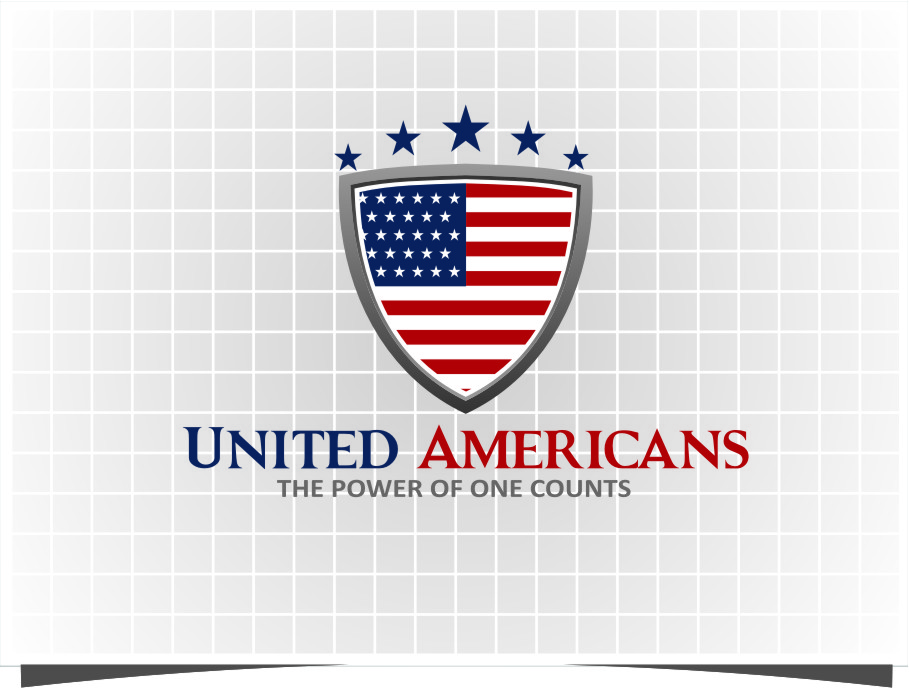 Logo Design by Ngepet_art - Entry No. 180 in the Logo Design Contest Creative Logo Design for United Americans.