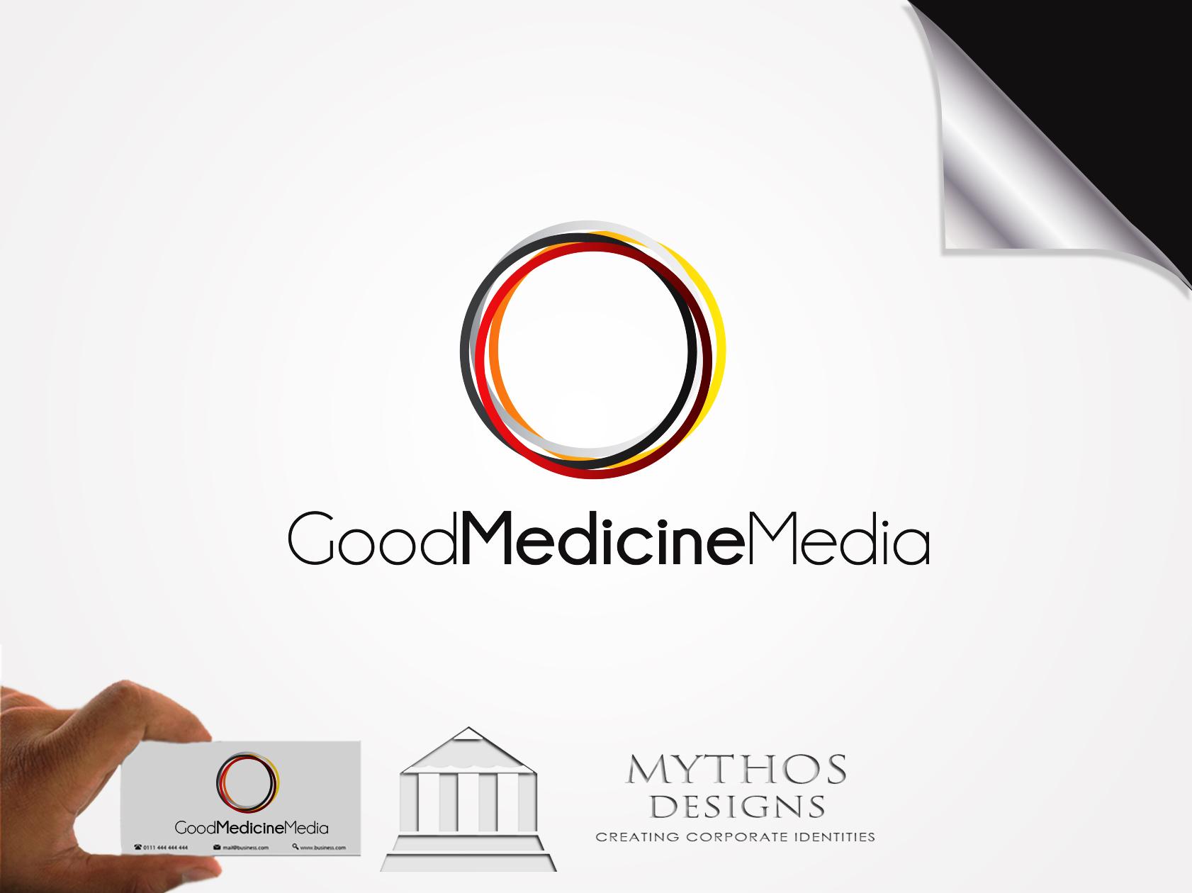 Logo Design by Mythos Designs - Entry No. 248 in the Logo Design Contest Good Medicine Media Logo Design.
