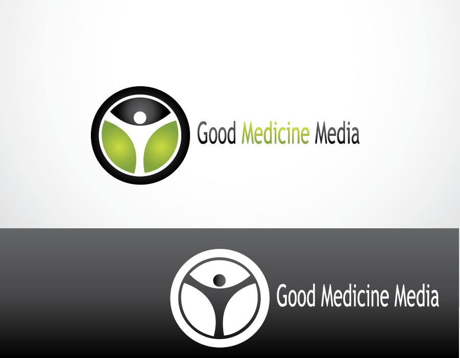 Logo Design by Private User - Entry No. 257 in the Logo Design Contest Good Medicine Media Logo Design.