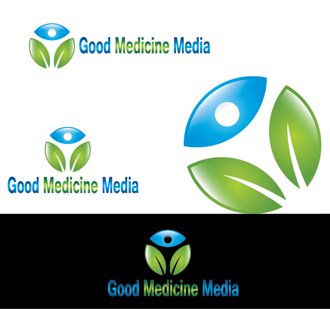 Logo Design by Private User - Entry No. 260 in the Logo Design Contest Good Medicine Media Logo Design.