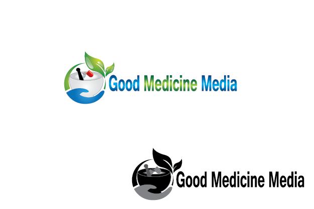 Logo Design by Private User - Entry No. 261 in the Logo Design Contest Good Medicine Media Logo Design.