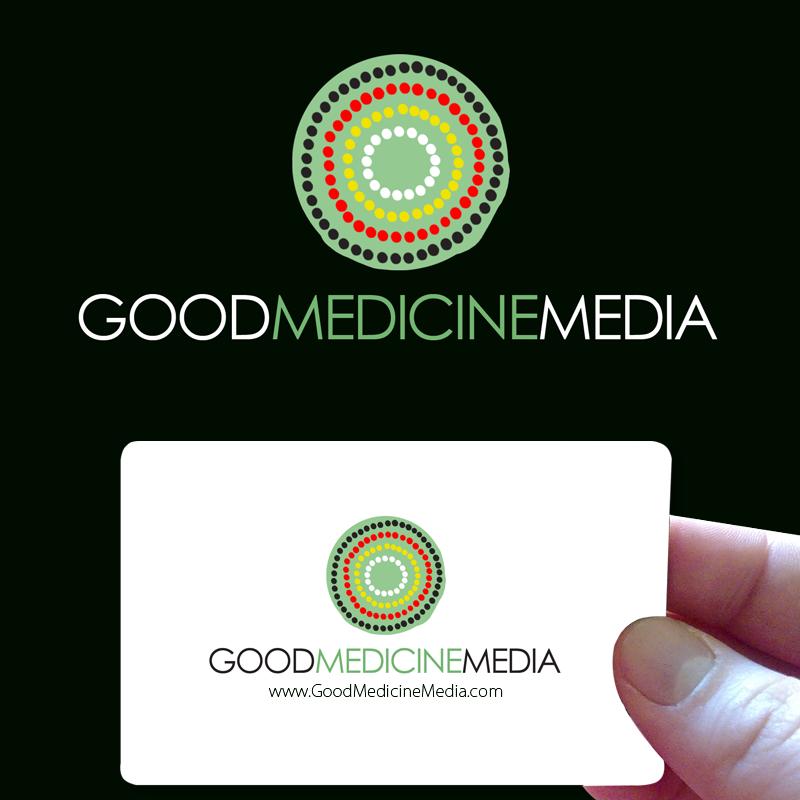 Logo Design by Private User - Entry No. 262 in the Logo Design Contest Good Medicine Media Logo Design.