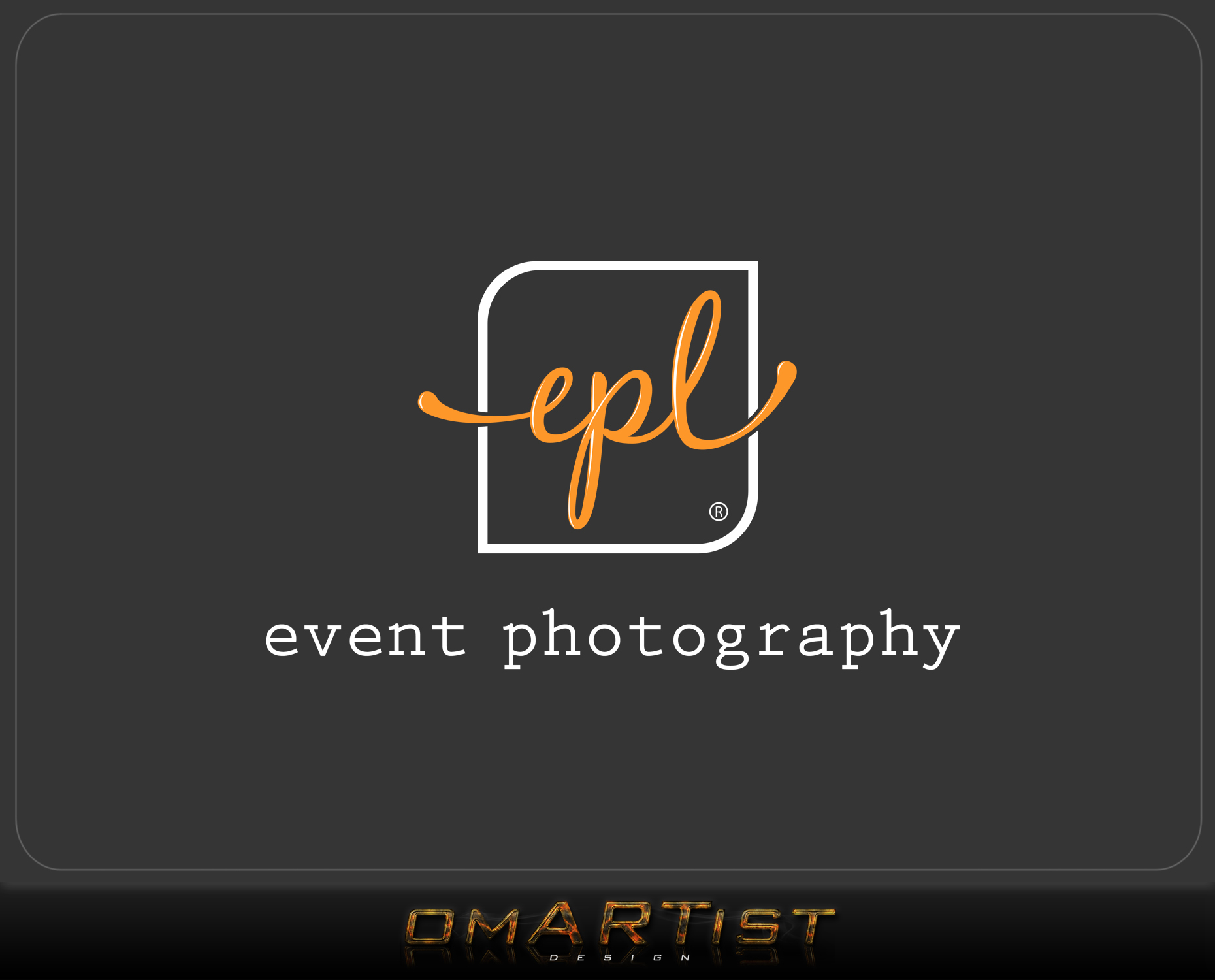 Logo Design by omARTist - Entry No. 75 in the Logo Design Contest New Logo Design for EPL Event Photography.