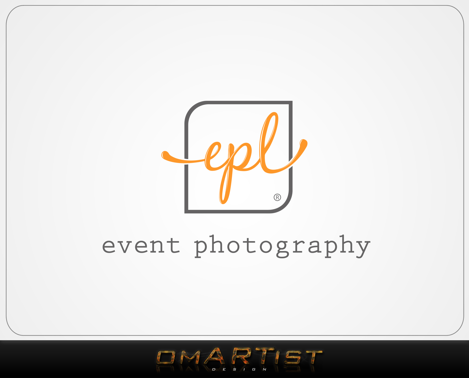 Logo Design by omARTist - Entry No. 76 in the Logo Design Contest New Logo Design for EPL Event Photography.