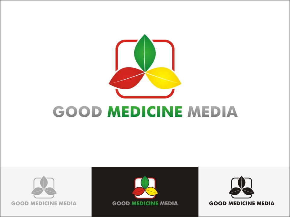 Logo Design by RED HORSE design studio - Entry No. 264 in the Logo Design Contest Good Medicine Media Logo Design.