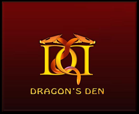 Logo Design by openartposter - Entry No. 44 in the Logo Design Contest The Dragons' Den needs a new logo.