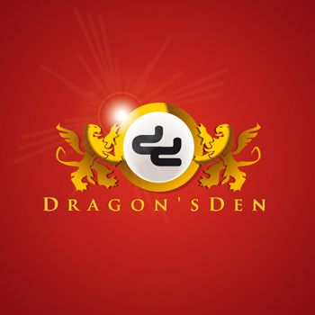 Logo Design by DINOO45 - Entry No. 45 in the Logo Design Contest The Dragons' Den needs a new logo.