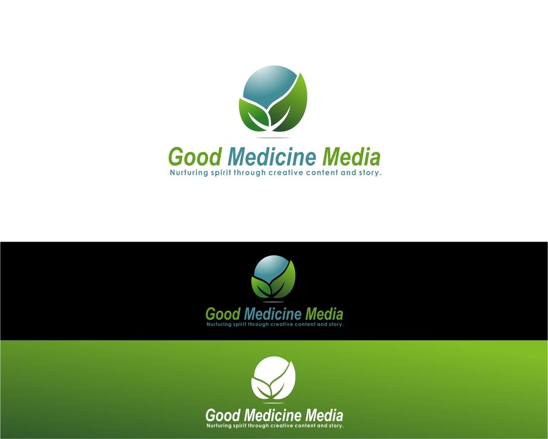 Logo Design by haidu - Entry No. 268 in the Logo Design Contest Good Medicine Media Logo Design.