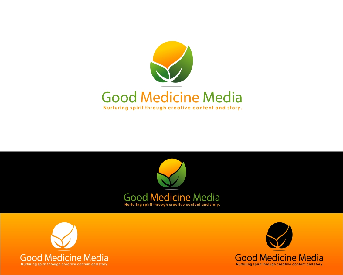 Logo Design by haidu - Entry No. 270 in the Logo Design Contest Good Medicine Media Logo Design.