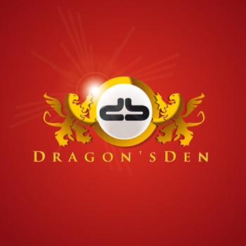 Logo Design by DINOO45 - Entry No. 46 in the Logo Design Contest The Dragons' Den needs a new logo.